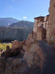 Basgo monastery, just north of Nimmu along the Leh-Kargil road.