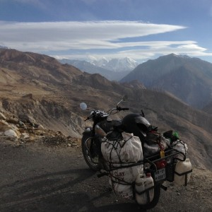 Inside the Inner-Line, a few km south of passing through a checkpoint and climbing high into the Himalayas.