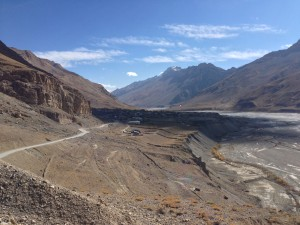 Kaza sits in the shadows on the east bank of the Spiti river. Isolated, and end of season too, few folks travel out this far.
