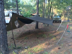 Hammock Camping in Georgia, near Vidalia July 2015
