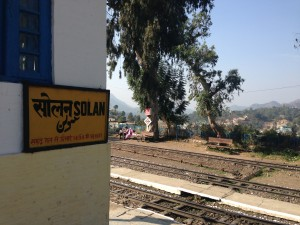 A day trip to Solan via bus only to return via the famous narrow gauge Shimla-Kalka Line.